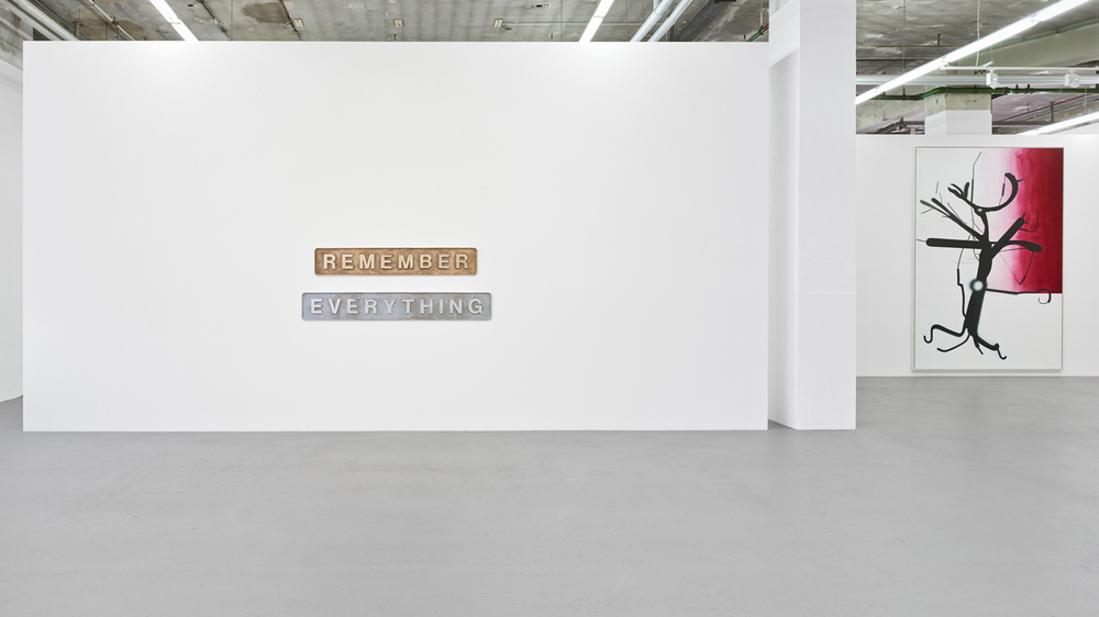 REMEMBER  EVERYTHING - Galerie Max Hetzler